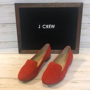 J. Crew red flats size 6.5